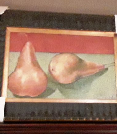 Painting 2 Pears