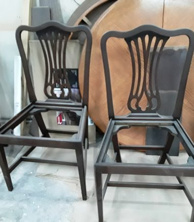 Set Of 4 Side And 1 Arm Chair